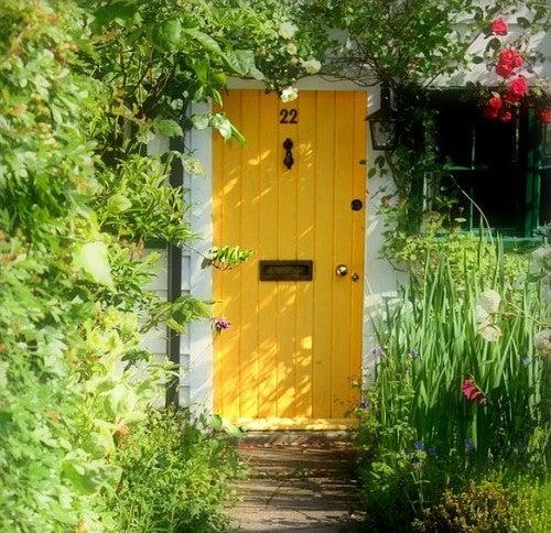 外国のエントランスドア(玄関ドア)とアプローチ