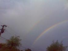 乾物屋やうえもんのブログ-虹