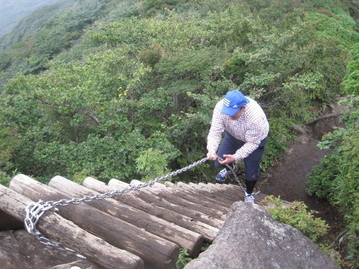 歩き人ふみの徒歩世界旅行 日本・台湾編-登山道