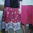 お気に入りのスカート…