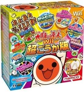 Wii 太鼓の達人 超ごうか版 太鼓とバチ 同梱版