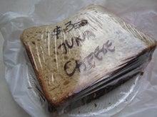 ツナ・チーズ・サンドイッチ3.50ドル