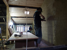 京町家を買って改修する男のblog-1土壁中塗仕上6