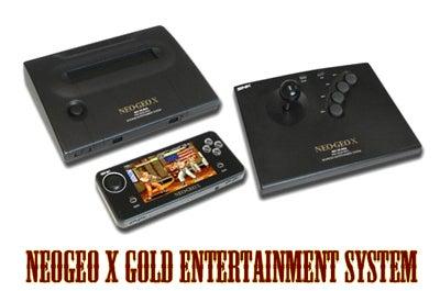 NEOGEO X GOLD ENTERTAINMENT SYSTEM 1