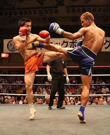 新日本キックボクシング協会-藤原あらしvsエッガラート
