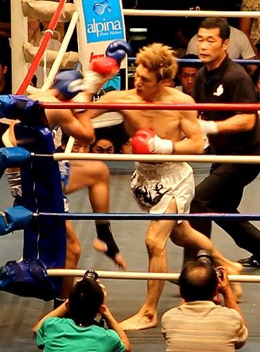 新日本キックボクシング協会-江幡睦vsジョムペット
