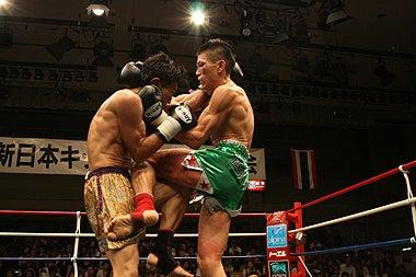 新日本キックボクシング協会-内田雅之vs古河たすく