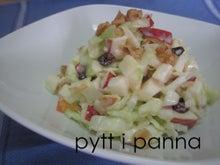 料理教室 pytt i panna-ウォルドルフサラダ