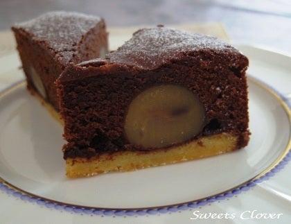 ~自宅で Happy Sweets~-ガトーショコラ・オ・マロン