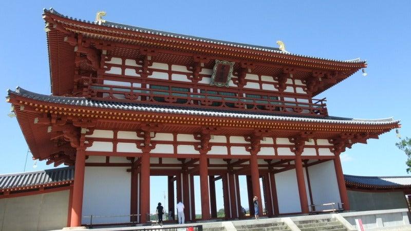 平城京の復元朱雀門