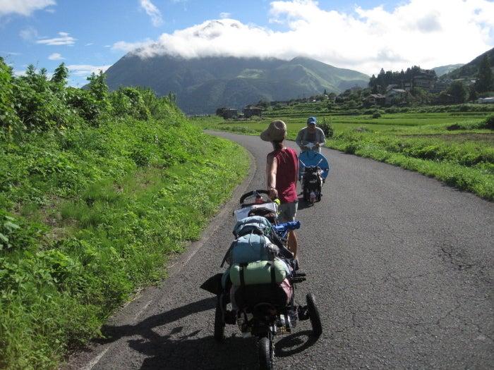歩き人ふみの徒歩世界旅行 日本・台湾編-二日目