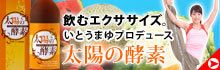 いとうまゆオフィシャルブログ「食べて踊って旅をして」Powered by Ameba-太陽の酵素バナー