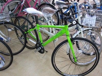 ... カラーの自転車入りました