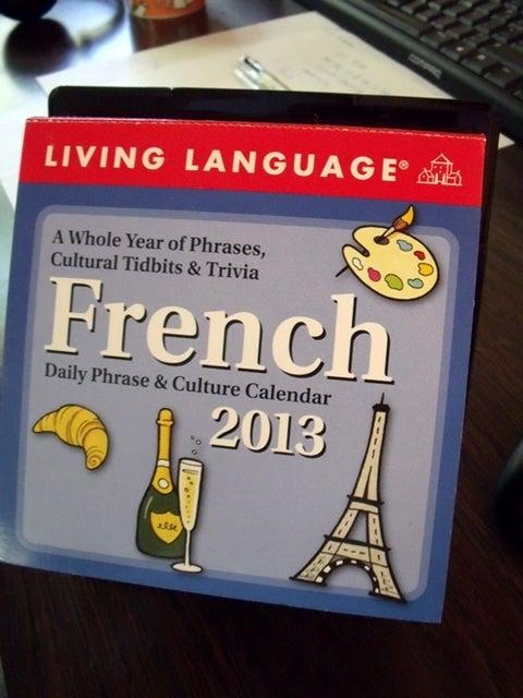 $penのフランス語日記 Ameba出張所-日めくり-5