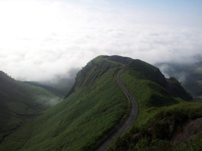 歩き人ふみの徒歩世界旅行 日本・台湾編-天空への道