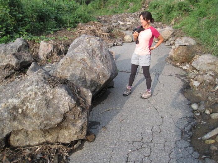 歩き人ふみの徒歩世界旅行 日本・台湾編-水害跡2
