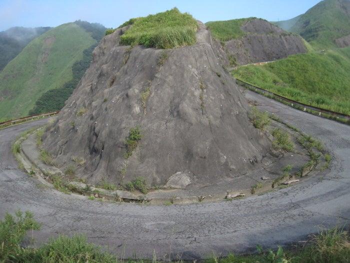 歩き人ふみの徒歩世界旅行 日本・台湾編-ヘアピンカーブ