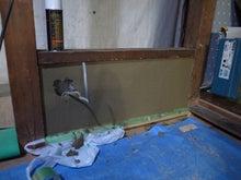 京町家を買って改修する男のblog-13土壁ガス栓