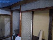 京町家を買って改修する男のblog-1ラスボード塗り壁