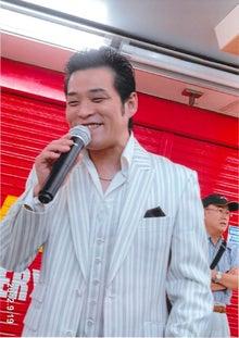 田山ひろし東京後援会のブログ-ギャグを言っている田山ひろし