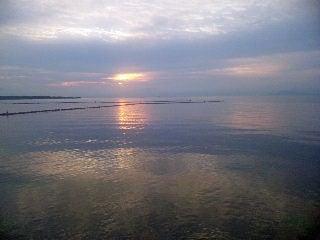 Dr.ミーヤンの下手っぴい釣りブログ-夜明け