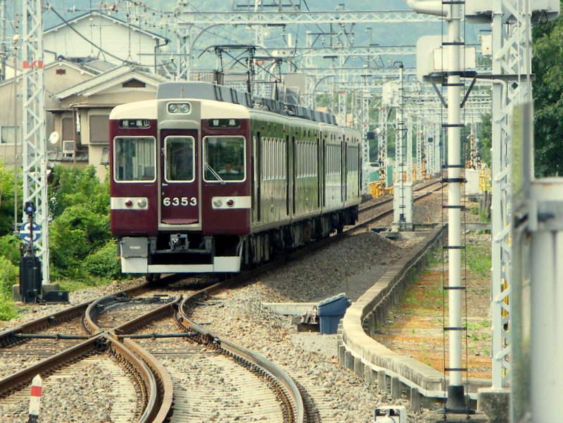 阪急嵐山線6300系