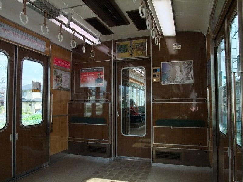 阪急嵐山線6300系車内02