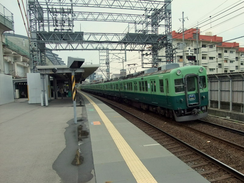 京阪淀駅高架化前03