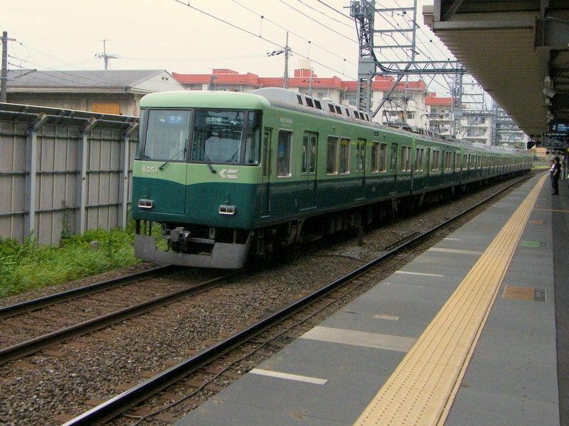 京阪淀駅高架化前02