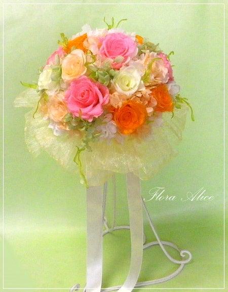 不思議な花のアリスのプリザーブドフラワーギャラリーin山形