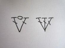 カルトナージュ・タティングレース教室(シャトル&ニードル) Atelier Cotton Rose  『手作り教室 一期一会』 -割る用 編み目記号図