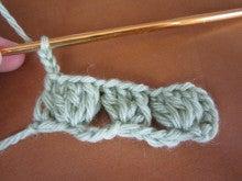 カルトナージュ・タティングレース教室(シャトル&ニードル) Atelier Cotton Rose 『手作り教室 一期一会』 -かぎ針 次の段に行くとき