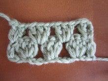 カルトナージュ・タティングレース教室(シャトル&ニードル) Atelier Cotton Rose  『手作り教室 一期一会』 -長編み 束・割 実物