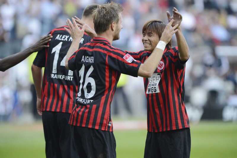 サッカー日本代表 ブンデスリーグ フランクフルト 乾貴士