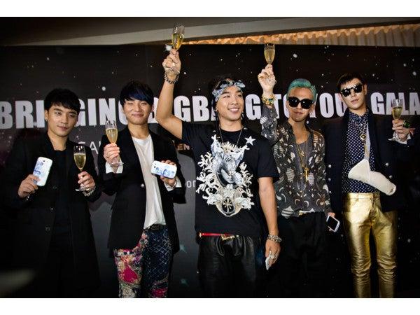 BIGBANG 記者会見写真② ALIVE TOUR シンガポール 20120927