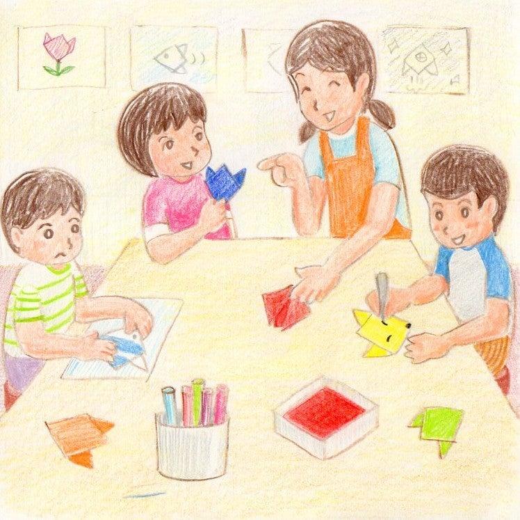 保育士実技絵画練習⑥