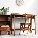 【送料無料】 hommage オマージュ デスクシリーズ3点セット どんなお部屋にも似合うシンプルなデザイン、自然の風合いが心地よい木製のデスク、チェアー、サイドチェストの3点セット。