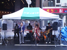 Think Band Official Blog-ミュージックレビュー八戸2012_wandbee