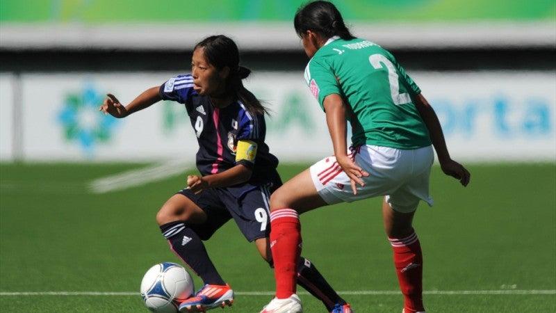 サッカー日本代表 リトルなでしこ W-17女子ワールドカップ メキシコ