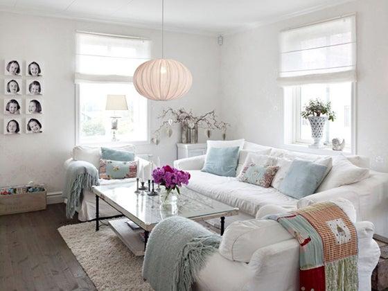 スウェーデンの真っ白なお家とフレンチスタイルなインテリア 賃貸マンションで海外インテリア風を目指すdiy