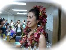 $【クオリア】ミチコの ~うるおいのお花ライフ~-フラ 上野先生 フォト