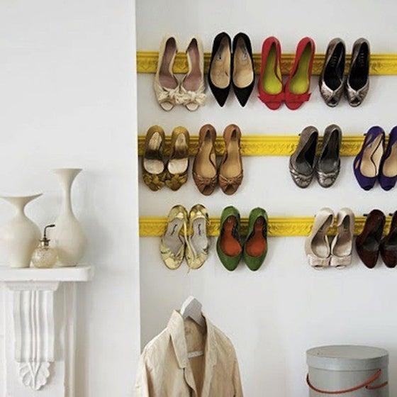 $靴・ブーツ・ハイヒール・スニーカーのおしゃれな収納方法アイデア