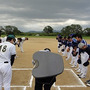 久々!野球の試合!
