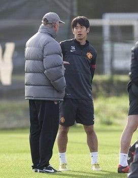 サッカー日本代表 マンチェスターユナイテッド 香川真司 チャンピオンズリーグ クルージュ