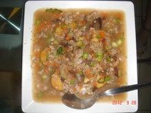 恭子の強固な生き様-豆腐と野菜のしょうゆ炒め