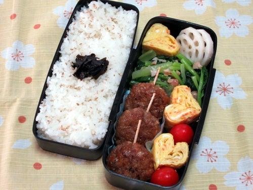 小松菜と落花生のナムル