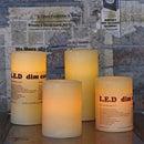 【レビューで3%OFF】DULTON ダルトン 『L.E.D ディムキャンドル M L.E.D Dim candle M』 M95169M キャンドルタイプ / キャンドルライト LEDライト ロウソク 照明 電池式 インダストリアル シャビー ロハス モダン レトロ アメリカ アメリカン