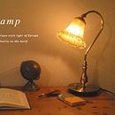 テーブルライト アンティーク レトロ デザイン おしゃれ デスクライト 照明 卓上ライト 卓上ランプ テーブルランプ シャビー ロココ調 家具 洋風 ゴシック 大人カワイイ 調光スイッチ