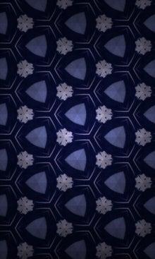 薪坂史柳の日常サハンジー-座布団の模様を再構築