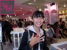 リボンの指輪「ハニーリボン」-原宿女の子 リボンの指輪